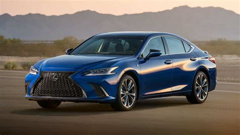 lexus es  brochure car review car review