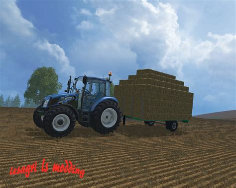 Small Ls by Trailers For Small Bales Trailer V 2 0 Farming Simulator 2017 2015 15 17 Ls Mod
