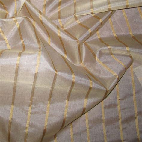 Organza Silk gold silk organza 1 4 quot stripe renaissance fabrics