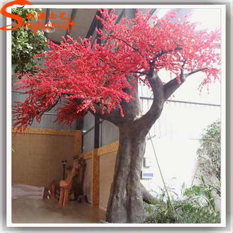 new year blossom tree different color artificial cherry blossom tree led lights