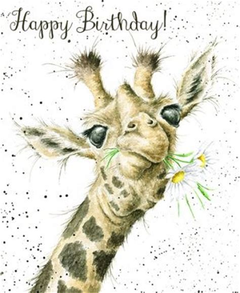 printable birthday cards with giraffes giraffe birthday flowers card karenza paperie