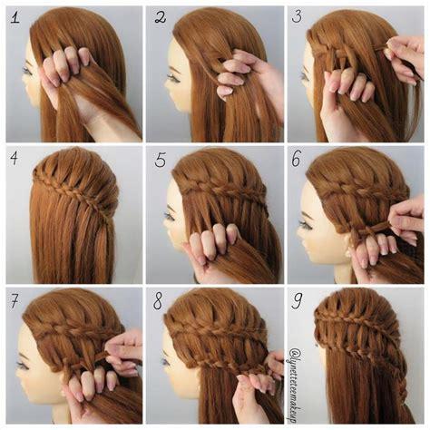 how to under braid dutch four strand ladder braids check out the braids