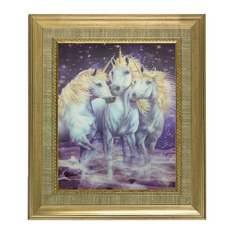 unicorn home decor unicorn lenticular 3d picture animal poster painting home