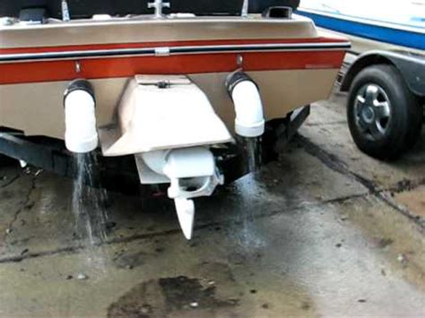 jet boat exhaust tips 460 taylor sj jet boat running in driveway with mufflers