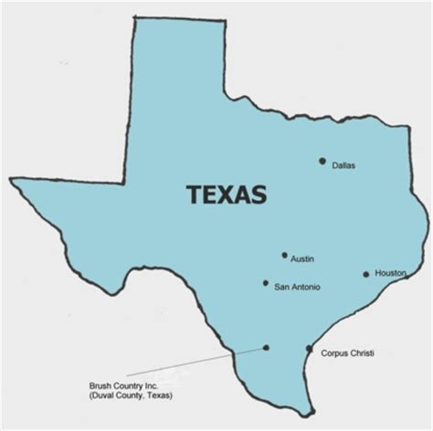 texas city map major cities brush country contact info guided for whitetail deer management bucks and