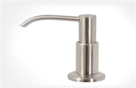 Delta Brushed Nickel Kitchen Faucet by Best Hand Soap Dispensers For A Germ Free Kitchen