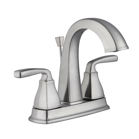 Pegasus Water Faucet by Pegasus 4 In Centerset 2 Handle High Arc Bathroom