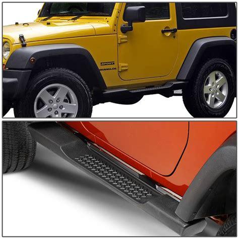 Nerf Bars For Jeep Wrangler 07 16 Jeep Wrangler Jk 2 Door Pair Of Oe Style Side Step