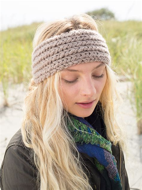 knitting pattern for headbands free knit headband patterns patterns knitting bee 19
