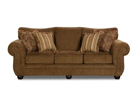 simmons antique memory foam sofa simmons sofa chocolate shop your way