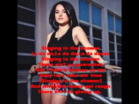 becky g shower lyrics