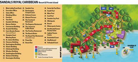 sandals royal caribbean resort map sandals royal caribbean resort map 28 images hotel