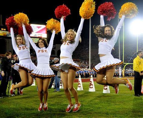 Usc cheerleader upskirts