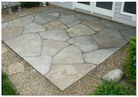 simple concrete patio designs popular unique concrete