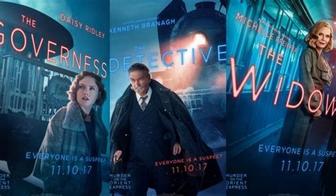 local movie theaters murder on the orient express by kenneth branagh meet the suspects in 16 murder on the orient express character posters comingsoon net howldb