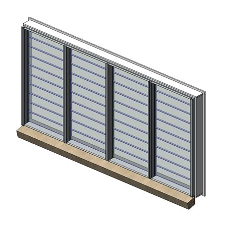 Awning Systems Designer Series 525 Louvremaster Adjustable Louvre Window