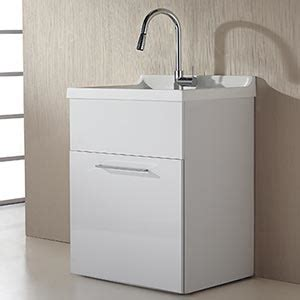 laundry room sink cabinet costco yani 28 in single utility vanity with faucet costco