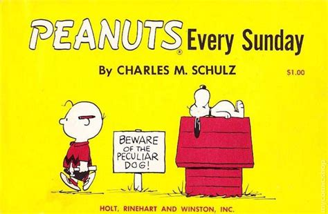 peanuts every sunday 1971 1975 books peanuts every sunday tpb 1961 holt rinehart and winston