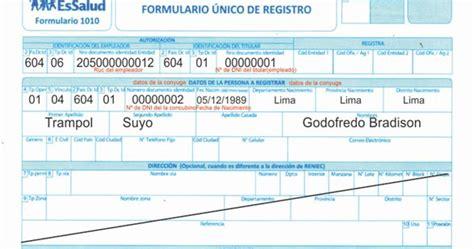 requisitos para inscribir a concubina en essalud 2016 tramites y requisitos para essalud modelos para inscribir