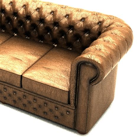 Chesterfield Sofa Set Chesterfield Sofa Set 3d Ma
