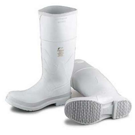 mens white rubber boots s white pvc boot onguard industries ong81011