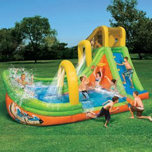 backyard blow up water slides 25 best ideas about inflatable water slides on pinterest