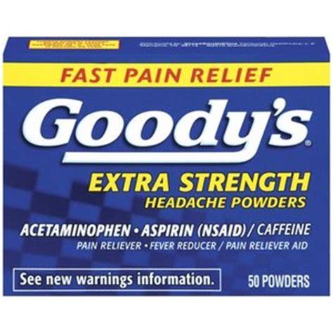 Goody Com | goody s extra strength headache powder reviews