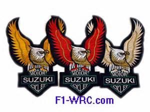 Suzuki Patches Suzuki Patches F1 Wrc Patch Shirt Jacket Jacket F1