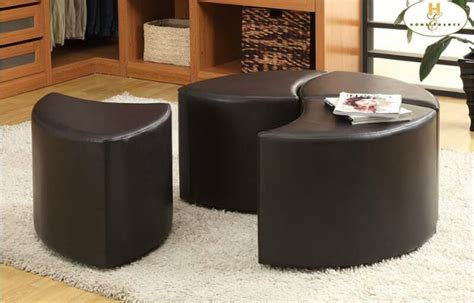 Best Selling Home Decor Furniture Llc by 36 Top Brown Leather Ottoman Coffee Tables