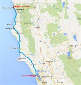 northern california coast driving itinerary i best road