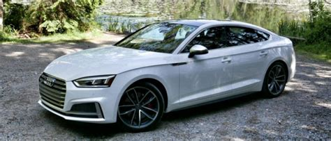 Audi A5 Alternative by 2018 Audi A5 S5 Sportback First Drive Luxury Suv