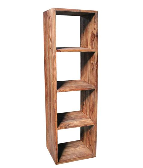 Open Bookcases Solid Wood solid wood open book shelf buy solid wood open book shelf at best price in india on snapdeal