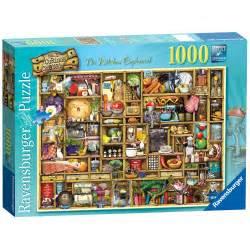 Standard Kitchen Cabinet ravensburger the curious kitchen cupboard 1000pc puzzle