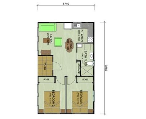 2 bedroom guest house guest house 2 bedroom simple layout guest house