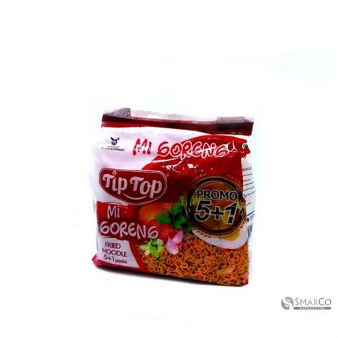 Minyak Goreng Tip Top detil produk tip top mie goreng 6x 68 gr 8995188602745