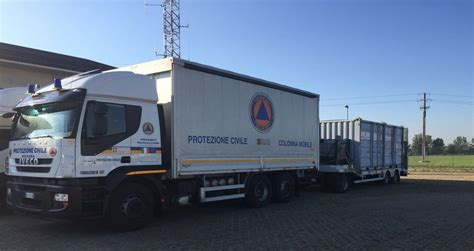 colonna mobile protezione civile terremoto la protezione civile piemonte rimane