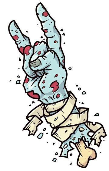 zombie tattoo on the hand tattooimages biz blue rock n roll zombie hand tattoo design tattooimages biz