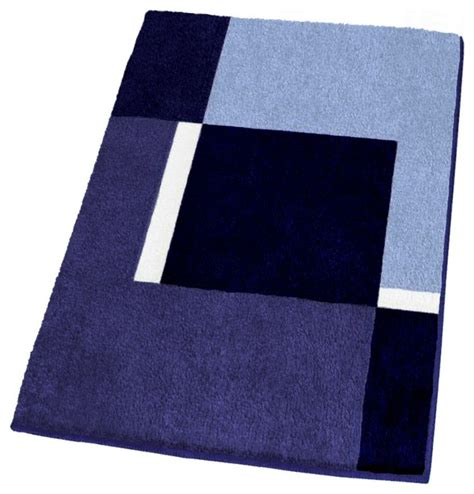 Navy Bathroom Rugs Contemporary Machine Washable Navy Blue Bathroom Rugs Large Contemporary Bath Mats