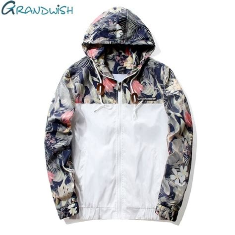 Jaket Sweater Hoodies Pria Outwear Blue Bomber H 2083 grandwish floral bomber jacket hip hop slim fit flowers pilot bomber jacket coat s