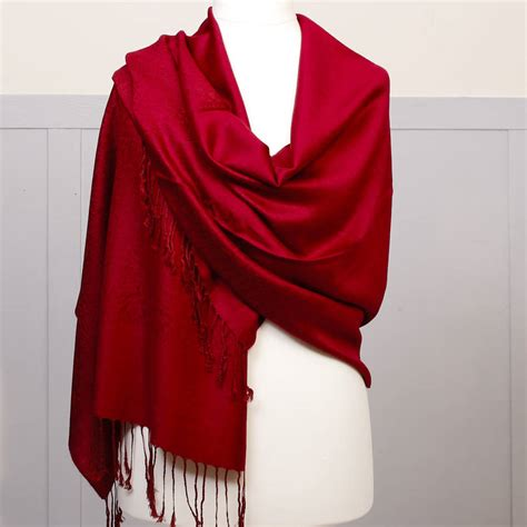 luxury pashmina shawl collection with free gift bag by