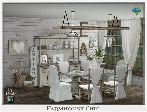 chic dining room chicklet s nest farmhouse chic dining room