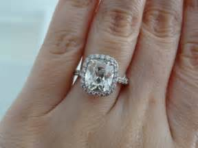 wedding rings 3 carats 3 carat cushion ring 171 buy me a rock