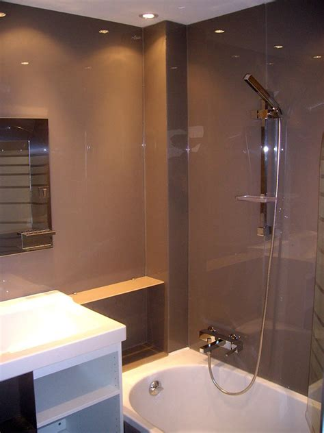 gloss paint in bathroom high gloss acrylic wall panels back painted glass