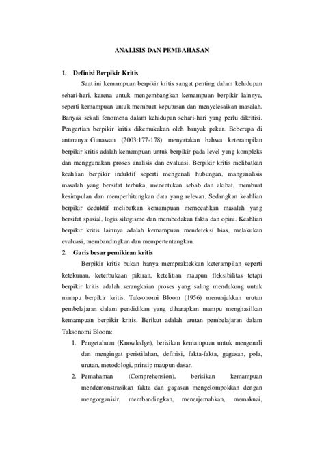 membuat review jurnal ilmiah critical review jurnal ilmiah