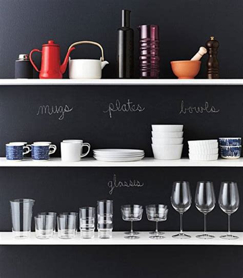 Kitchen Chalkboard With Shelf by 21 Diy Chalkboard Paint Ideas That Are Brilliantly