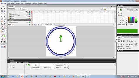 cara membuat jam dinding dengan macromedia flash 8 membuat animasi jam analog pada macromedia flash youtube