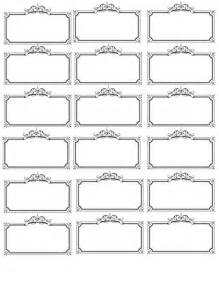 name tag template bridal shower wedding