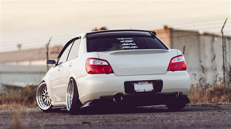 stanced subaru hd wrx wallpaper wallpapersafari