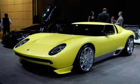 New Lamborghini Miura Looks Like The New Lamborghini Miura Has New Headlights