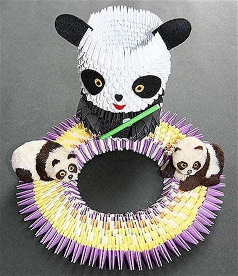 Origami 3d Panda - 17 best images about you di origami in 3d on